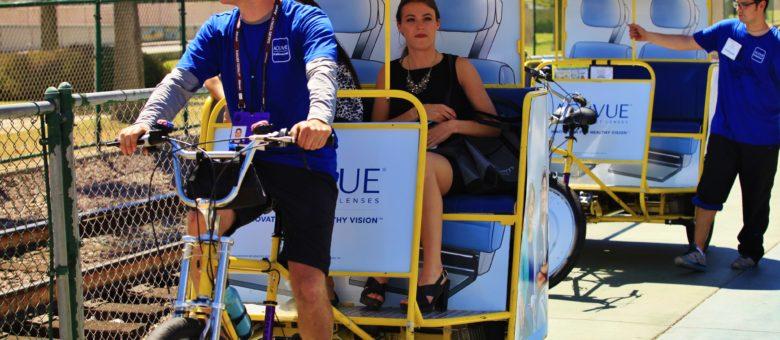 Johnson & Johnson's Acuvue Pedicab