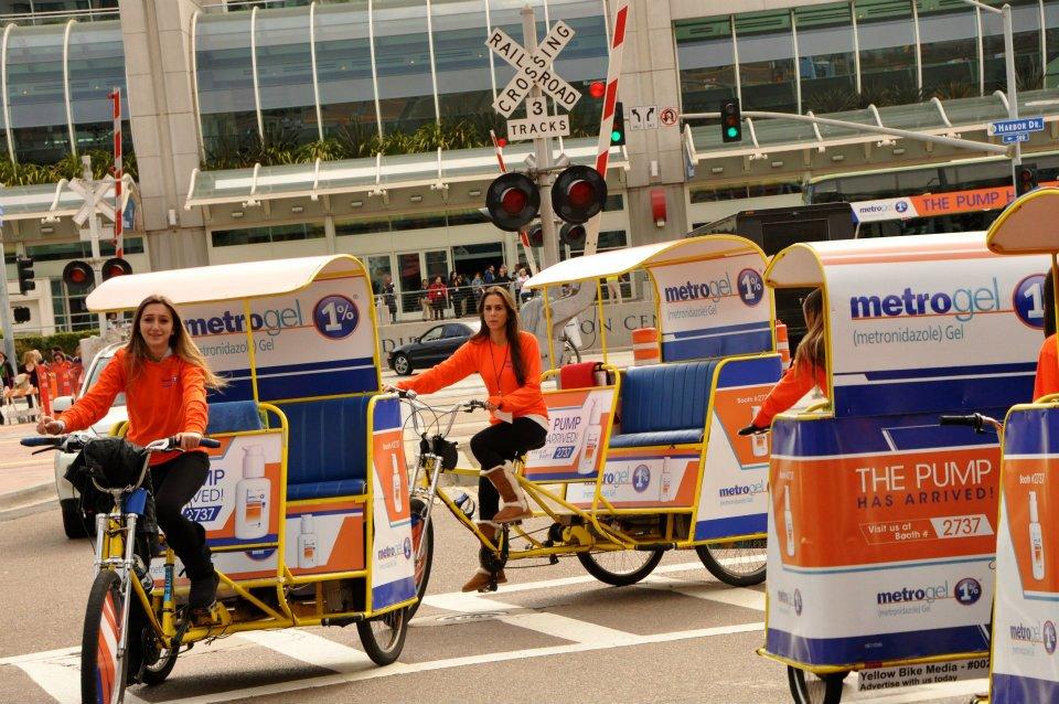San Diego Convention Pedicab
