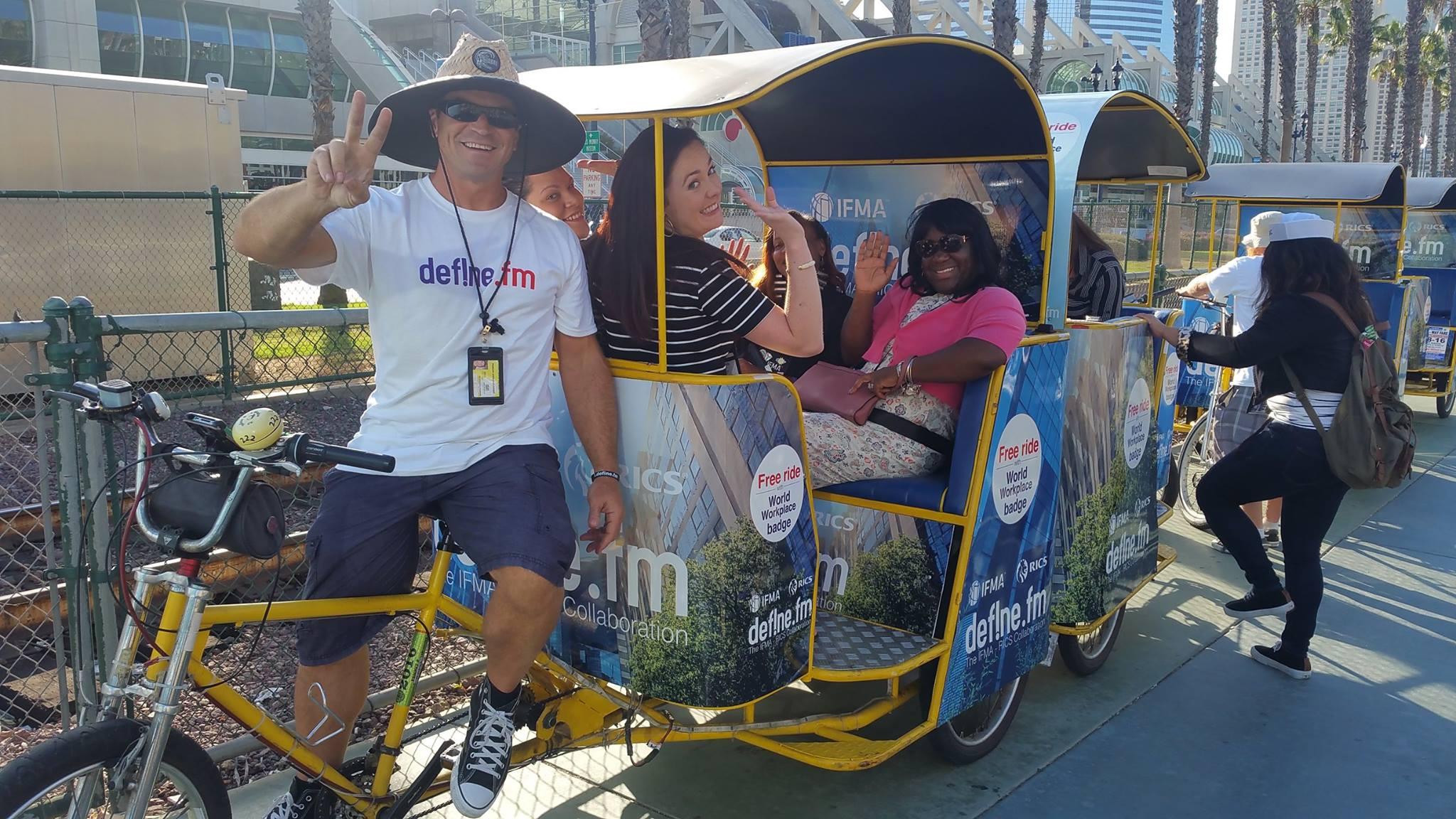 IFMA Convention Pedicabs