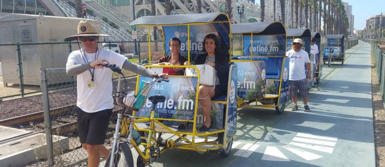 IFMA Convention Pedicabs