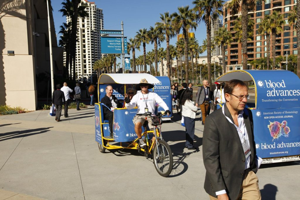 San Diego Convention Pedicabs