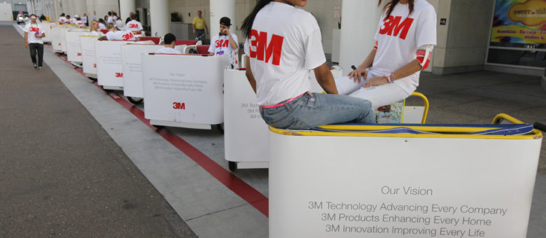 3M Company – Industrial Convention Pedicabs
