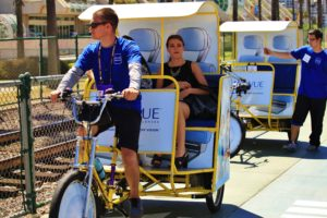 Johnson & Johnson's Acuvue Pedicab