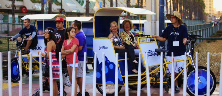 Jetblue Airways – GBTA 2013 Convention Pedicabs
