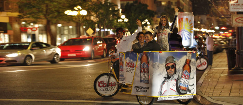 Coors Light – Miller Coors Distributers Convention Pedicabs