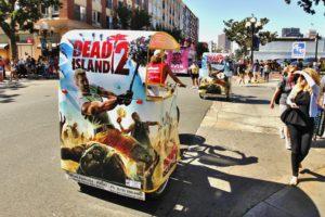 Dead Island Comic Con Pedicabs