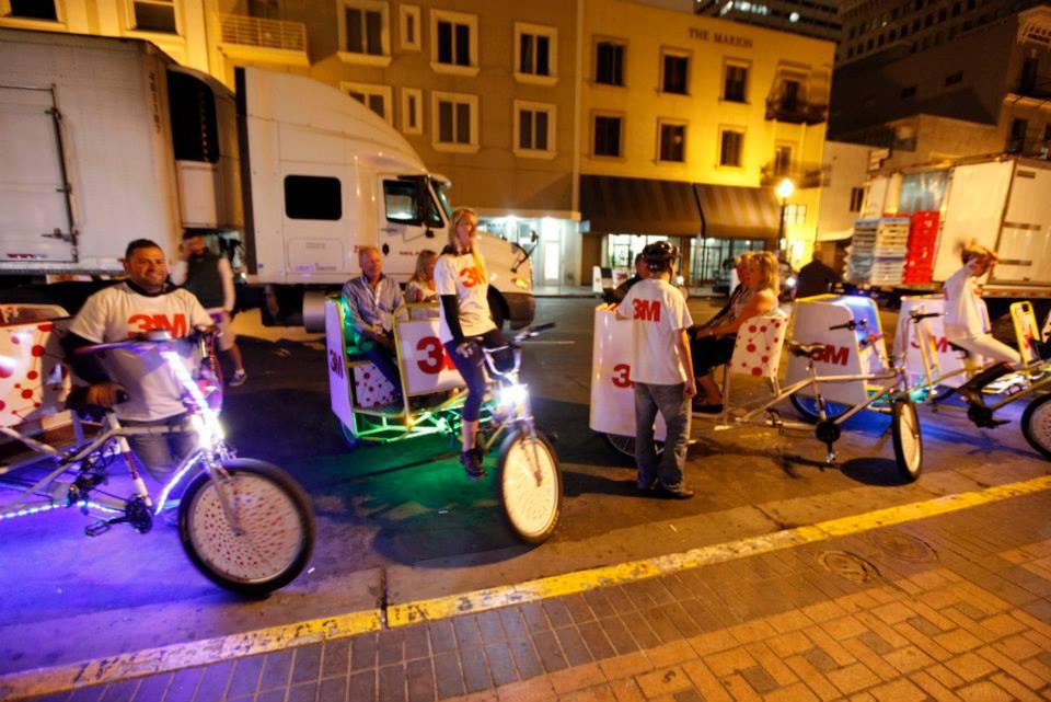 3M Pedicab Campaign San Diego